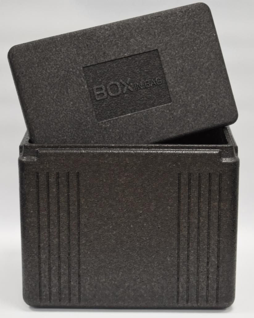 Box in Bag geöffnet