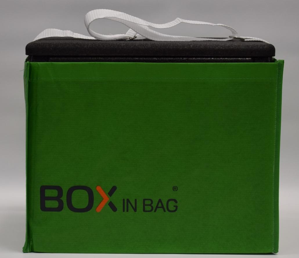 Box in Bag grün