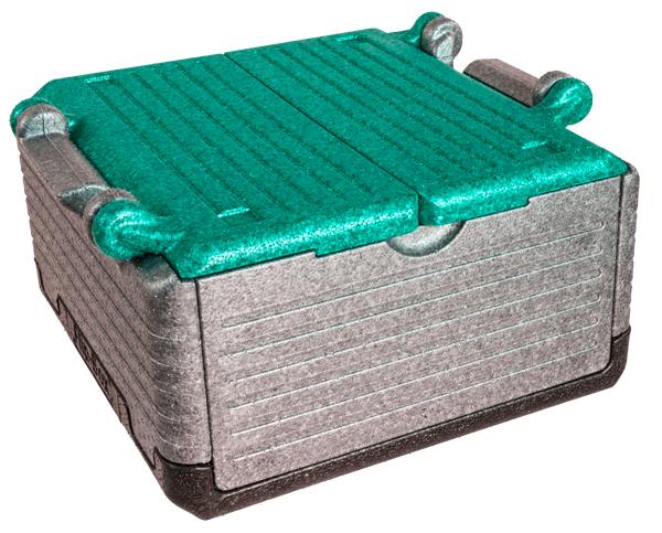 Flip-Box classic mit grünem Deckel