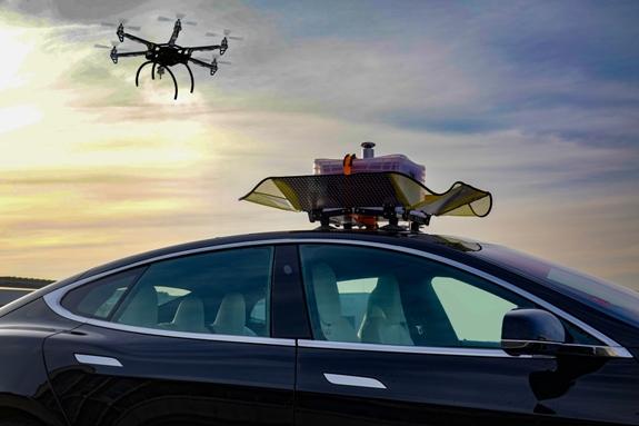 Intelligente-Logisitik-Drohnen