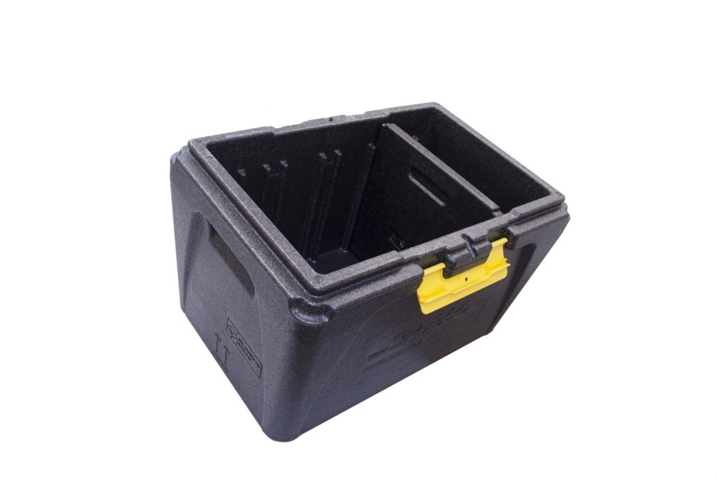 Multibox ohne Deckel mit Trennsteg schräg