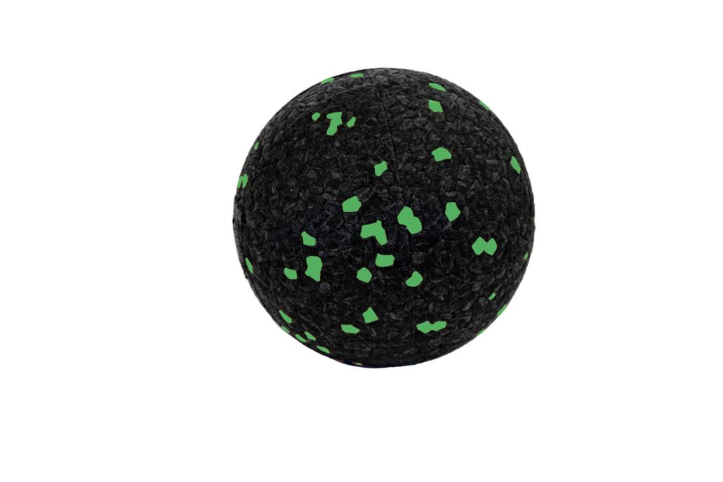 Rumi-Sports Massageball (EB) klein_grün gesprenkelt