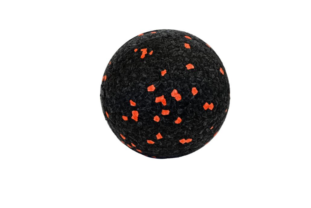 Rumi-Sports Massageball (EB) klein_orange gesprenkelt